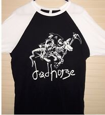 "deadhorse Jersey ""Death Rides a Dead Horse"" Original Vintage Style Haaga Jersey"