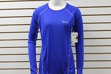 Women's Marmot Frequency LS Astral Blue 55100 New With BLEMISHES MSRP $50