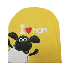 Infant Baby Boy Girl Lovely Cotton Beanie Hat Kids Soft Toddler Warm Caps Yellow