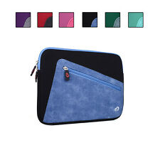 Top Loading Neoprene Sleeve w/ Front Accessory Pocket fits ViewSonic G Tablet