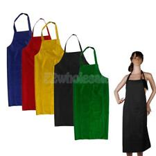 Water Resistant Kitchen Cooking Apron Pocket Chefs Housewives Home Restaurant