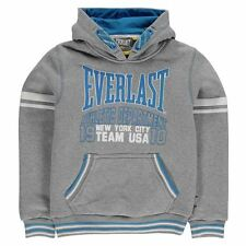 Everlast Childrens Large Logo Boys Hoodie Over The Head Hoody Top Clothing