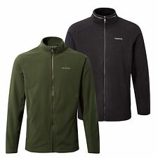 Craghoppers Mens Kiwi Interactive Full Zip Warm Micro Fleece Jacket Light Weight