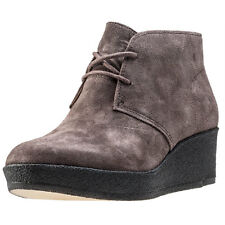 Clarks Originals Athie Terra Womens Wedges Taupe New Shoes
