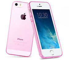 Hot Thin Crystal Clear Soft Gel Silicone Case Cover for Apple iPhone 5 5S YUW4