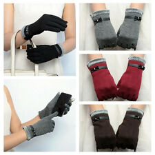 HOT Cute Womens Gift Touch Screen Winter Warm Thick Wrist-Gloves Mittens OUTDOOR