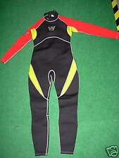 Junior full Wetsuit By Wetline (Red/Yellow) XXL