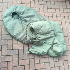 UK BRITISH ARMY MODULAR SYSTEM MEDIUM WEIGHT SLEEPING BAG, WITH COMPRESSION SACK