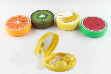 New Contact Lens Case Container Travel Portable Kit Holder Mirror Box Set