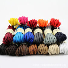 1 Pair Round Cord Canvas Shoelaces Shoe String Strap for Athletic Sport Hiking