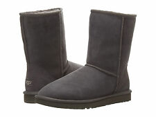 Women UGG Australia Classic Short Boot 5825 Grey 100% Authentic Brand New