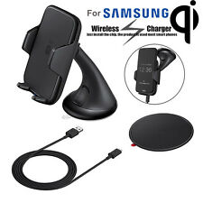 Qi Wireless Charger Charging Car Mount Holder for Samsung Galaxy S7 S7 Edge Lot