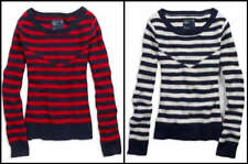 NWT AMERICAN EAGLE Inlay Striped Sweater Wool Blend $49 Retail