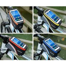 ROSWHEEL Bicycle Cycling Bike Sport Front Frame Tube Phone Holder Bag Case V4R4