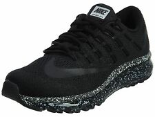 Nike Air Max 2016 Premium Mens 810885-010 OREO Black Mesh Running Shoes All Size