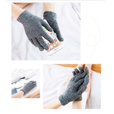 Fashion Warm Winter Gloves Knitted Touch Screen Gloves Mobile phone Unisex Glove