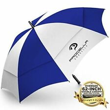 "NEW Procella 62"" Golf Umbrella Double Vented Canopy Auto Open Windproof Oversize"