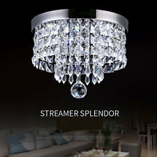 Modern LED Ceiling Lights Pendant Fixture Lighting Crystal Chandeliers 8818