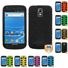 For Samsung Hercules T989 Hybrid IMPACT Hard Soft Rugged Armor Case Cover