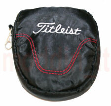 NEW TITLEIST SMALL ACCESSORY VALUABLES POUCH GOLF, BLACK