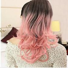Fashion Women Ladies Long Curly Wig Cosplay Fancy Party Wavy Hair Hairpieces