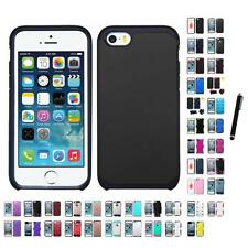 For Apple iPhone 5/5S/SE Hybrid IMPACT Hard TUFF Hybrid Case Cover Stylus Pen