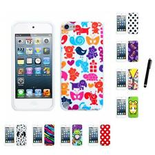 For Apple iPod Touch 5th 6th Gen TPU Design Case Phone Cover Stylus Pen