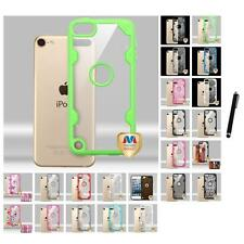 For Apple iPod Touch 5th 6th Gen Hybrid TUFF Impact Armor Hard Case Stylus Pen