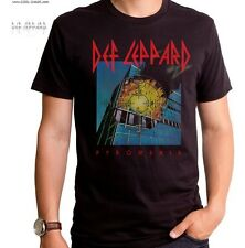 Def Leppard Pyromania T-Shirt / Retro Rock Tee,Official Licensed Def Leppard Tee