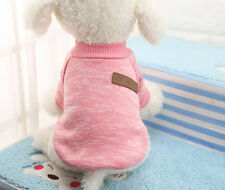 Small Extra Small Dog Sweater Puppy Hoodie Pet Coat Clothes Clothing XXS/XS/S