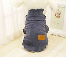 Small Dog Sweater Cat Sweater Puppy Pet Clothing Clothes Vest Teacup Chihuahua
