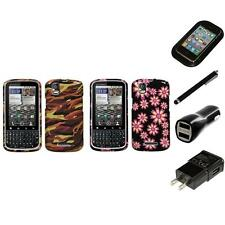 For Motorola Droid Pro A957 Design Snap-On Hard Case Phone Cover Charger Stylus