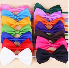 Noeud Papillon Chat Chien Rouge Noir Blanc Vert Rose Jaune Violet Rose Orange