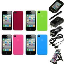 For Apple iPhone 4/4S Snap-On Rear Hard Back Cover Phone Case Accessories
