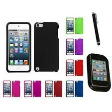 For Apple iPod Touch 5th 6th Gen Rigid Plastic Hard Snap-On Case Mount+Pen