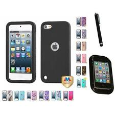 For Apple iPod Touch 5th 6th Gen Hard TUFF IMPACT Case Rugged Armor Mount+Pen