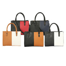 Ladies Women Large Designer Fashion Tote Bags Shoulder Handbag Colge Bag AG