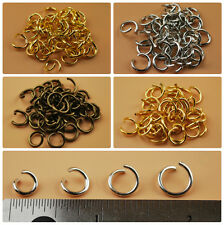 Round Open Jump Rings Thick Connector Link Attach Charm Clasp Finding 17 Gauge