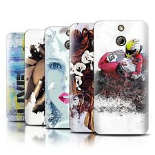 STUFF4 Back Case/Cover/Skin for HTC One/1 E8/Fragments