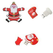 Christmas Santa USB 2.0 3.0 Memory Stick Flash Drive U Disk Storage 16GB/8GB/4GB