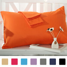 Pillow Cases Pillowcases Covers Standard King Body Size Egyptian Cotton Set of 4