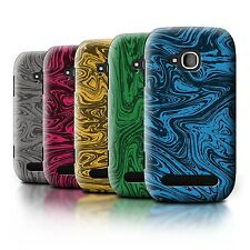 STUFF4 Back Case/Cover/Skin for Nokia Lumia 710/Melted Liquid Metal Effect