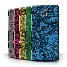 STUFF4 Case/Cover/Skin for Sony Xperia Sola/MT27i/Melted Liquid Metal Effect