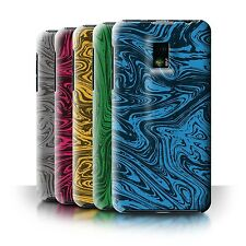 STUFF4 Back Case/Cover/Skin for LG Optimus 2X/P990/Melted Liquid Metal Effect