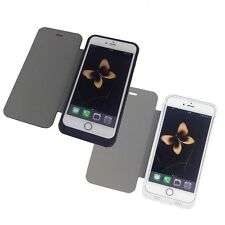 """IPhone 6 Plus 5.5"""" Portable Battery Backup Pack Charger Case 4500 mAh-White US"""