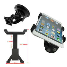 "Vehicle Car Windshield Suction Cup Mounts Holder Adjustable For 7-11"" Tablet PC"