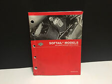 Harley Davidson OEM Factory Parts Catalog 2007 All Softail Models 99455-07
