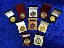 Set of 10 Assorted Various Ladies Womens Girls Football Medals Tournament Club