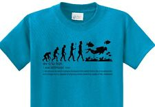 Evolution of Diving  SCUBA Divers T-Shirt  with Reef and Fish