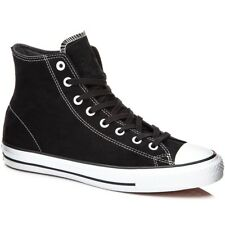 CONVERSE CTAS PRO HI BLACK WHITE MENS CASUAL SUEDE SKATEBOARD SHOES SNEAKERS